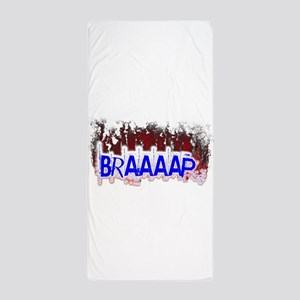 Braaaap Beach Towel